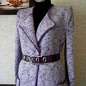 """Одежда ручной работы. Ярмарка Мастеров - ручная работа Кардиган """"Сиреневая осень"""". Handmade."""