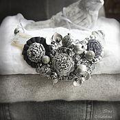 Украшения handmade. Livemaster - original item The Necklace Faces Flicker. Handmade.