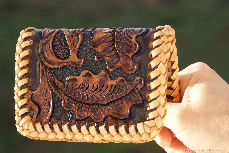 Small leather purse, Business card holders, Krasnodar,  Фото №1