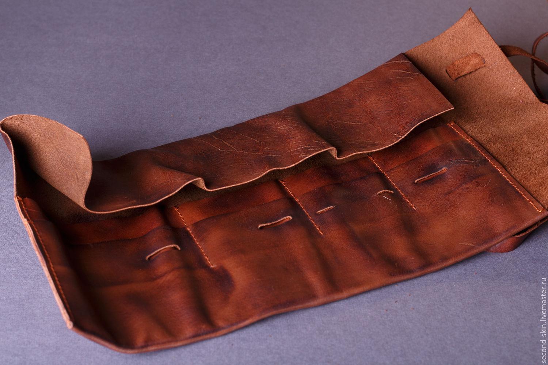 Изготовление аксессуаров из кожи
