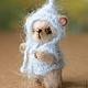 Мишки Тедди ручной работы. Медвежонок Тимоша. Ольга 'Сказка рядом'. Ярмарка Мастеров. Маленький, хлопок