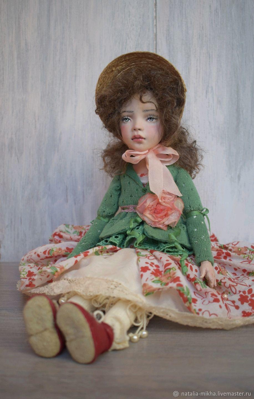 Author's collectible doll Sashenka, Dolls, Nizhny Novgorod,  Фото №1