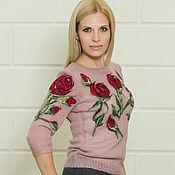 """Одежда ручной работы. Ярмарка Мастеров - ручная работа ` Scarlet Rose"""". Handmade."""