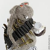 Куклы и игрушки ручной работы. Ярмарка Мастеров - ручная работа Авторская вязаная игрушка. Сладкоежка. Handmade.