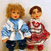 Свадебный салон ручной работы. Ярмарка Мастеров - ручная работа Свадебные куклы Неразлучники. Handmade.