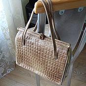 Винтаж ручной работы. Ярмарка Мастеров - ручная работа Женская сумочка-винтаж. Handmade.