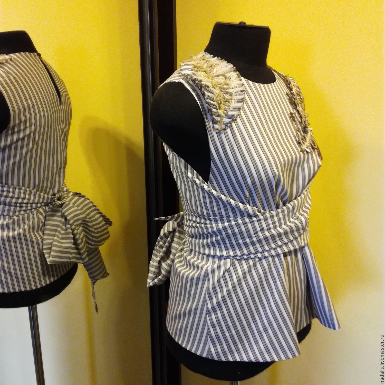 Фото мк как сшить блузку