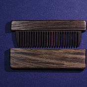 Сувениры и подарки handmade. Livemaster - original item Copy of Wooden comb from Bog Oak 5400 years old. Handmade.