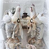 Подарки к праздникам ручной работы. Ярмарка Мастеров - ручная работа Символ года-Путух в винтажном стиле. Handmade.