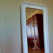 Зеркала ручной работы. Ярмарка Мастеров - ручная работа Зеркало шебби шик, деревянное. Handmade.