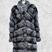 Одежда handmade. Livemaster - original item Fur coat from natural fox fur.. Handmade.