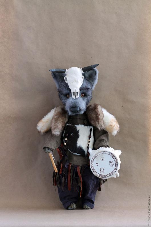 Мишки Тедди ручной работы. Ярмарка Мастеров - ручная работа. Купить шаман,призывающий удачу.... Handmade. Тедди, ручная работа