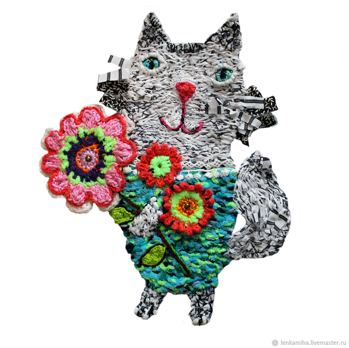 Pendants handmade. Livemaster - handmade. Buy Festive bouquet.Handmade, cats, interior decor, decorative elements