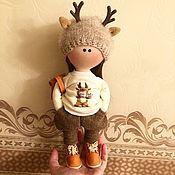Куклы и игрушки ручной работы. Ярмарка Мастеров - ручная работа Олененок. Handmade.