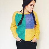 Одежда handmade. Livemaster - original item Air mohair jumper. Handmade.