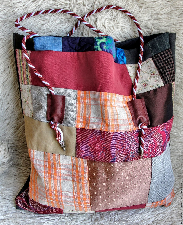 Bag patchwork, Classic Bag, Jerusalem,  Фото №1