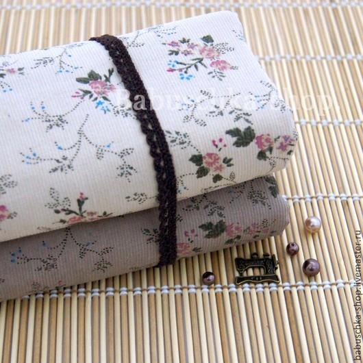 """Шитье ручной работы. Ярмарка Мастеров - ручная работа. Купить Хлопковый микровельвет """"Japan Style"""". Handmade. Вельвет, ткань для творчества"""