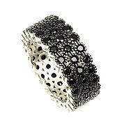 Украшения handmade. Livemaster - original item Ring: Ring black spinel silver. Handmade.