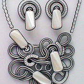 Украшения handmade. Livemaster - original item Soutache jewelry set