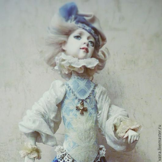 Коллекционные куклы ручной работы. Ярмарка Мастеров - ручная работа. Купить Голубая кровь. Handmade. Принц, подарок, кожа натуральная