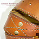 Ремень кожаный by Artisan Belt Craft