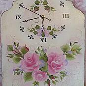 Для дома и интерьера handmade. Livemaster - original item Wall clock in the style of