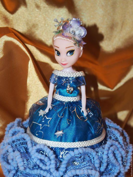 Шкатулки ручной работы. Ярмарка Мастеров - ручная работа. Купить Кукла-шкатулка. Handmade. Синий, кукла для девочки, подарок девушке