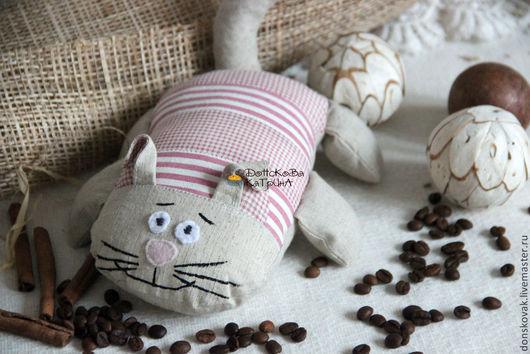 Персональные подарки ручной работы. Ярмарка Мастеров - ручная работа. Купить Ароматный  кот. Handmade. 23 февраля, игрушка, текстиль