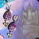 Комплекты украшений ручной работы. Дама сердца Рыцаря Моря. Колье и серьги.. Наталия (12enotov). Ярмарка Мастеров. Ролевые игры