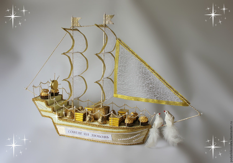 Подарки на свадьбу своими руками корабль