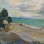 Картины и панно handmade. Livemaster - original item Picture. Marine Landscape. The Wind. Handmade.