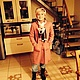 """Одежда для девочек, ручной работы. Пальто """" Лоден"""". 'Нежный возраст'. Ярмарка Мастеров. Ярко-розовый, дочке, шерстяное пальто"""