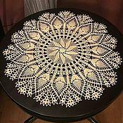 Для дома и интерьера handmade. Livemaster - original item Doily crochet, 45 cm. Handmade.