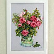 Pictures handmade. Livemaster - original item Bouquet with berries. Handmade.