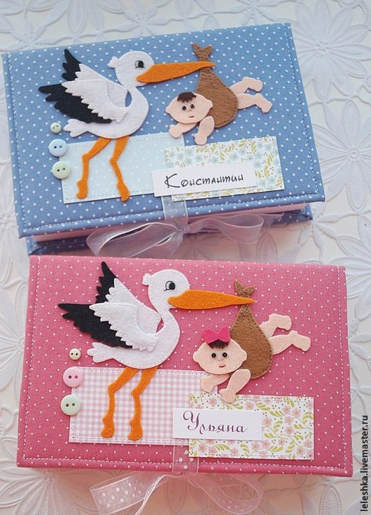 Подарки для новорожденных, ручной работы. Ярмарка Мастеров - ручная работа. Купить Коробочка для хранения. Handmade. Коробочка, картон переплётный