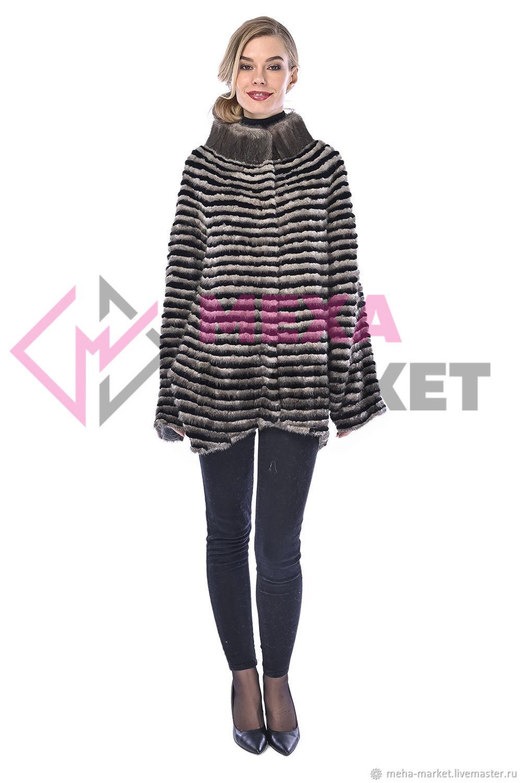 Mink jacket on knitwear, Outerwear Jackets, Moscow,  Фото №1