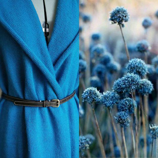 Верхняя одежда ручной работы. Ярмарка Мастеров - ручная работа. Купить Пальто вязаное Serenity. Handmade. Безмятежность, вязаный кардиган