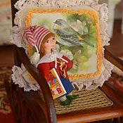 Куклы и игрушки ручной работы. Ярмарка Мастеров - ручная работа Кукла для куклы миниатюрная Буратино. Handmade.