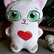 Мягкие игрушки ручной работы. Ярмарка Мастеров - ручная работа Кофейные котики. Handmade.
