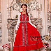 Одежда handmade. Livemaster - original item Sundress traditional