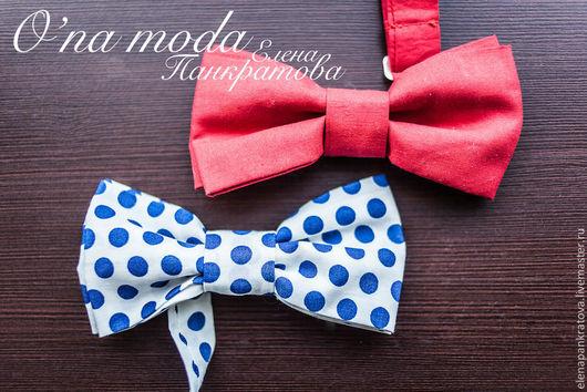 Галстуки, бабочки ручной работы. Ярмарка Мастеров - ручная работа. Купить галстук-бабочка (в ассортименте). Handmade. Ярко-красный