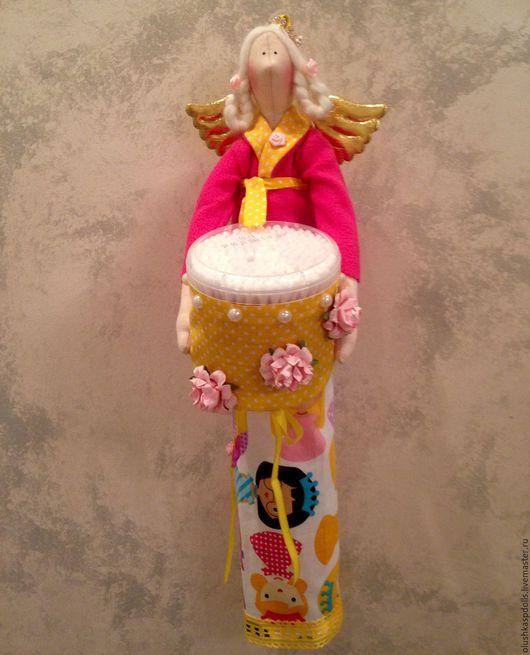 Куклы Тильды ручной работы. Ярмарка Мастеров - ручная работа. Купить Банная фея Принцесса (Хранительница ватных палочек и дисков). Handmade.