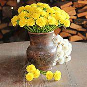 Цветы и флористика ручной работы. Ярмарка Мастеров - ручная работа Букет из одуванчиков. Handmade.