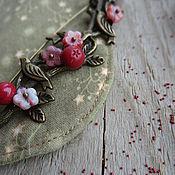 """Украшения ручной работы. Ярмарка Мастеров - ручная работа """"Дикие ягоды"""" брошь ручной работы. Handmade."""