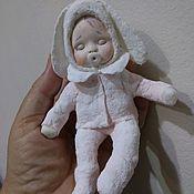 Куклы и пупсы ручной работы. Ярмарка Мастеров - ручная работа Ватная елочная игрушка. Handmade.