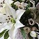 Свадебные цветы ручной работы. Заказать Белых лилий аромат. Елена Касимова. Ярмарка Мастеров. Букет, гортензия