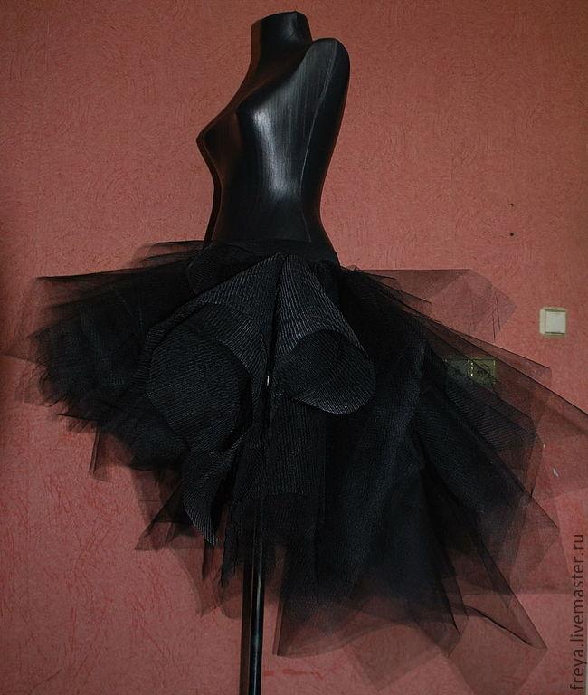 Ассиметричные юбки из фатина
