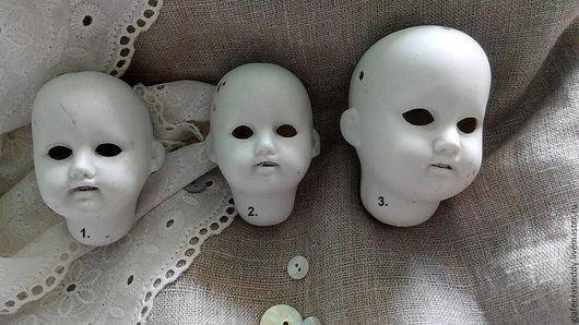 Куклы и игрушки ручной работы. Ярмарка Мастеров - ручная работа. Купить Г 10. Большие белые головки.Антик.. Handmade.