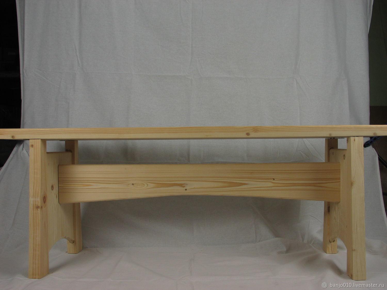 Shop pine nekrashenaya, Garden benches, Lyubertsy,  Фото №1