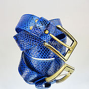 Аксессуары handmade. Livemaster - original item WOMEN`s ellein Python leather belt. Handmade.